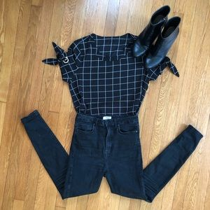 GRID classy top Lowest Price